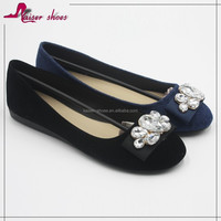 SSK16-261 Wholesale Casual Flat Women Shoes new design plain women shoes