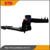 China supplier 65 tons 4 axles hydraulic extendable lowbed trailer