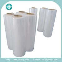 Transparent PE stretch wrap film