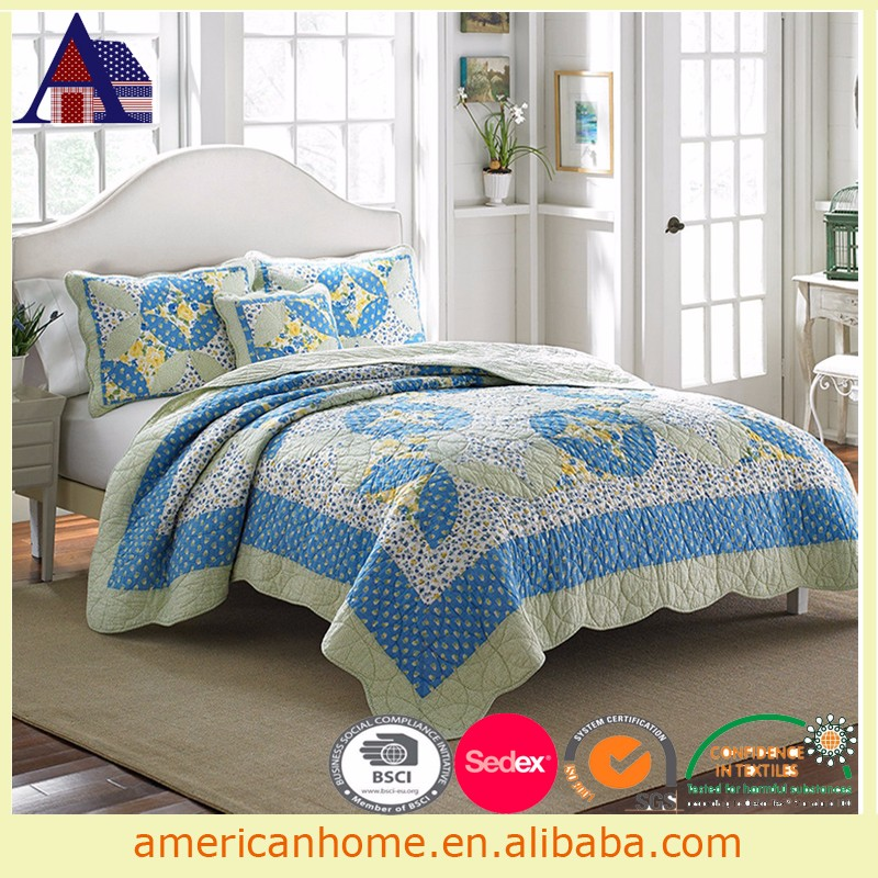 Home used microfiber double bed quilts