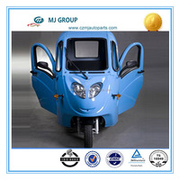 Solar electric tricycle for passenger,electric tuk tuk ,high quanlity battery powered tricycle
