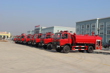 Good helper Wood fire truck 160hp Dongfeng water fire engine truck