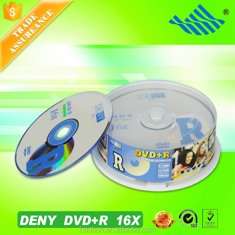 A+ Grade cake box packing blank cd and dvd virgin