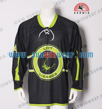 2017 New latest fashion sublimation colorful 5XL nhl ice hockey jerseys