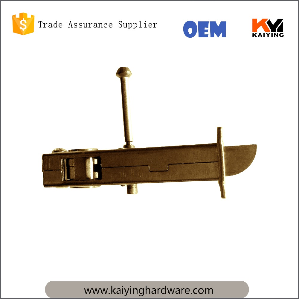 201 stainless steel latch face, zinc plated parts,entrance privacy passage door lock latch