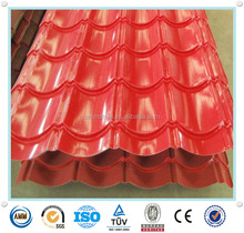 paint Galvanized roof sheet/metal roof tile