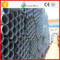 Free Samples Q195 Q235 Q345 schedule 40 steel pipe pressure rating seamless steel galvanized gi pipe