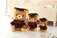 wholesale soft short plush doctor bear cartoon bear sitting bear toys children gifts