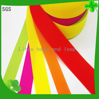 Colorful Hot Selling High Quality Low Price Nylon Hook and Loop for apparel wholesale