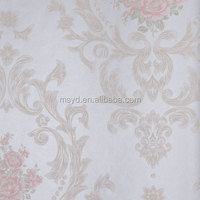 better quality of pvc wallpaper china supplier for walls 3d wallpaper