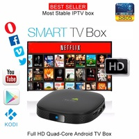 Kodi(xbmc) Fully Loaded 1080p Quad Core Smart Media Player, IPTV,OTT TV ,Root,4k, H.265 Best Android TV Box