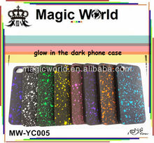2014 glow in the dark phone case ,bling hard case for iphone 5c