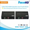 120m HDMI over LAN Extender with IR remote and PC software control, support POE, H.264 encode