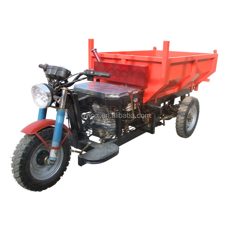 Licheng ISO approved new condition durable mining motorized tvs tricycle for cargo use