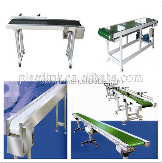 Plast Link iron painted Aluminum mobile phone assembly line ,Belt Conveyor working tables equipment for LED