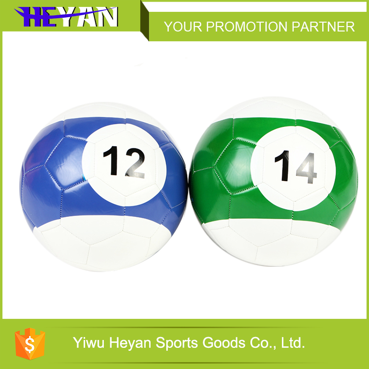 Most popular snookballs soccer footballs pvc foam football