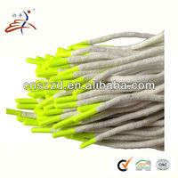 cotton round funky shoelace