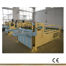 Manual cardboard corrugated carton box glue machine