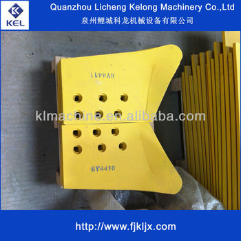 Earth Moving Machinery Parts End bit 6Y4410