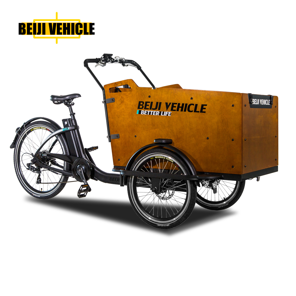 China cheap electric pedal cargo tricycle