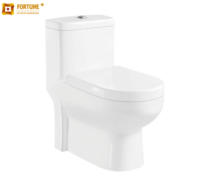 bathroom morden style ceramic elegant design washdown one piece toilet