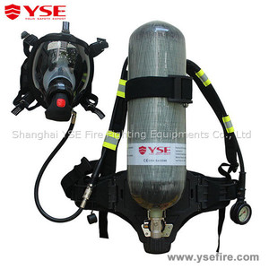 Self-contained breathing apparatus/ SCBA /RHZKF 6.8/30 /Positive Pressure Air Respirator