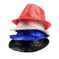 Paillette led Lights Flashing Funny Flitter Party Hat