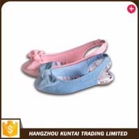 New type top sale girls fancy flat sandal