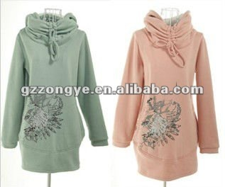 Latest fashion high quality hoodies women casual blouse low moq OEM supply manufacturer