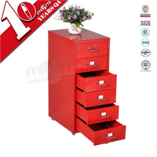 Manufacturer high quality 6 drawer file storage cabinet / refrigerator drawer cabinet