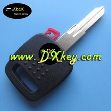 A32 transponder key shell with logo With plug carbon car key cover
