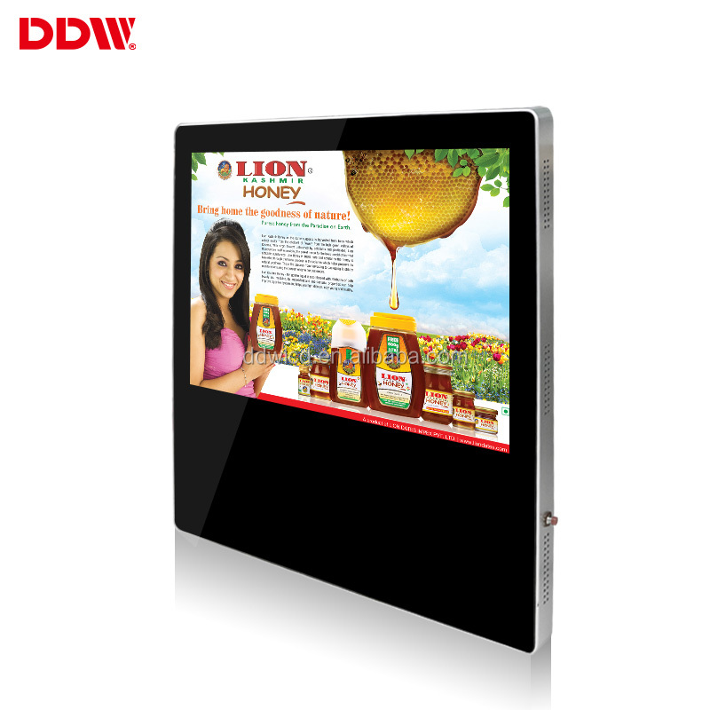"26"" LCD Advertising Display Screen Digital Signage Service Stand Education DDW-AD4201WM"