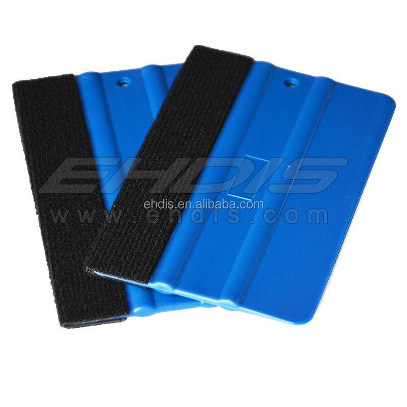 Car window vinyl wrapping films application squeegee tools/wrapping tools with felt
