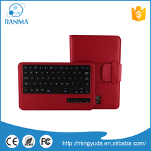 Leather Folding Bluetooth tablet Keyboard Case For Galaxy Note 8.0