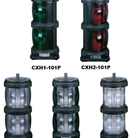 Marine Lighting Full Plastic Double Deck