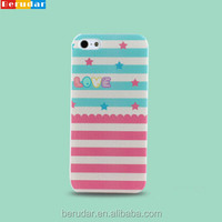 Free sample mobile accessory smart phone hard cover for iphone 5s