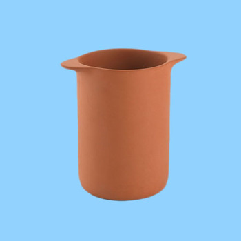 Wholesale terracotta beer unpainted wine bottle drink holder