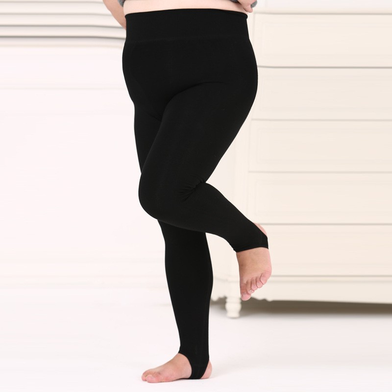 very thick 580g winter fur legging with fleece fat women wear <strong>plus</strong> size winter thermal leggings