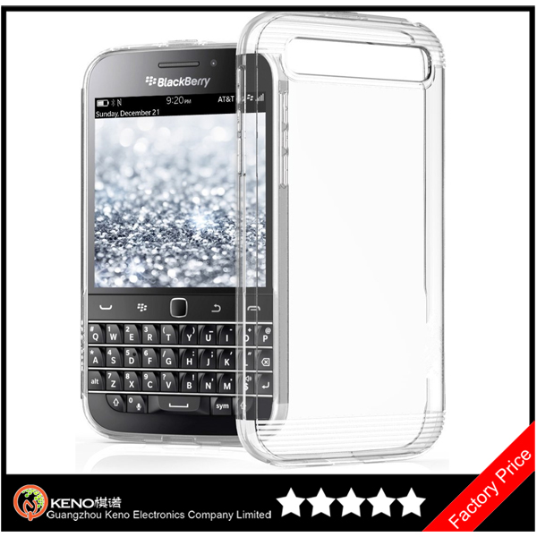 Keno Clear Crystal Series Mobile Phone Cover Case for BlackBerry Classic Q20