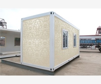modular structure 20 ft prefab container living house for Algeria