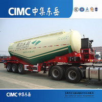 CIMC Sales Promotion 60 Ton Capacity Powder Cement Tanker Prices In Pakistan