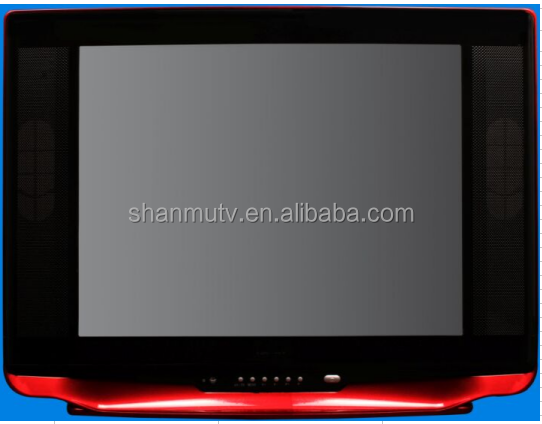 21 inch ultra slim CRT TV with Solution