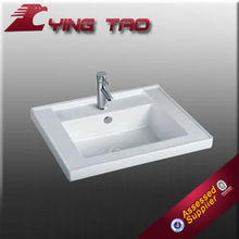 Excellent quality vitreous Uniquecounter bath outdoor fancy wash basin