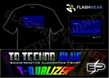 [Super Deal]Wholesale fashion hot sale T-shirt A34,el t-shirt,led t-shirt