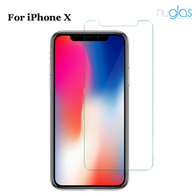 2 packs! Nuglas For iPhone X Free sample OEM Touch Accurate Mobile Phone Use cover screen protector