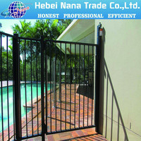 folding fence gate metal material baby safety gate