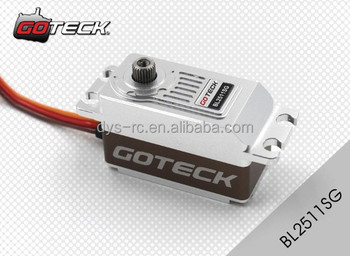 Goteck low profile high torque high speed dc brushless for High speed servo motor