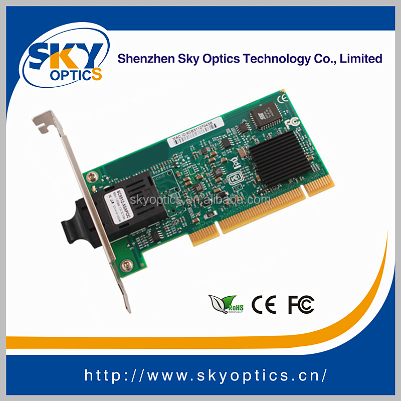 1GB Network Card 1000Base-SX SC MM Fiber NIC PCI NIC Card