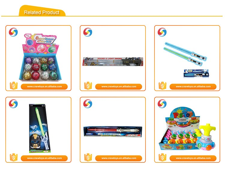 China supplier plastic colorful top level toys light up swords for sale