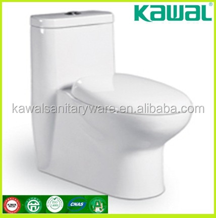 Cheap sanitary wares floor mounted two pieces ceramic washdown toilet